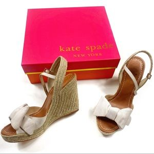 Kate spade New York jumper wedges size 7.5
